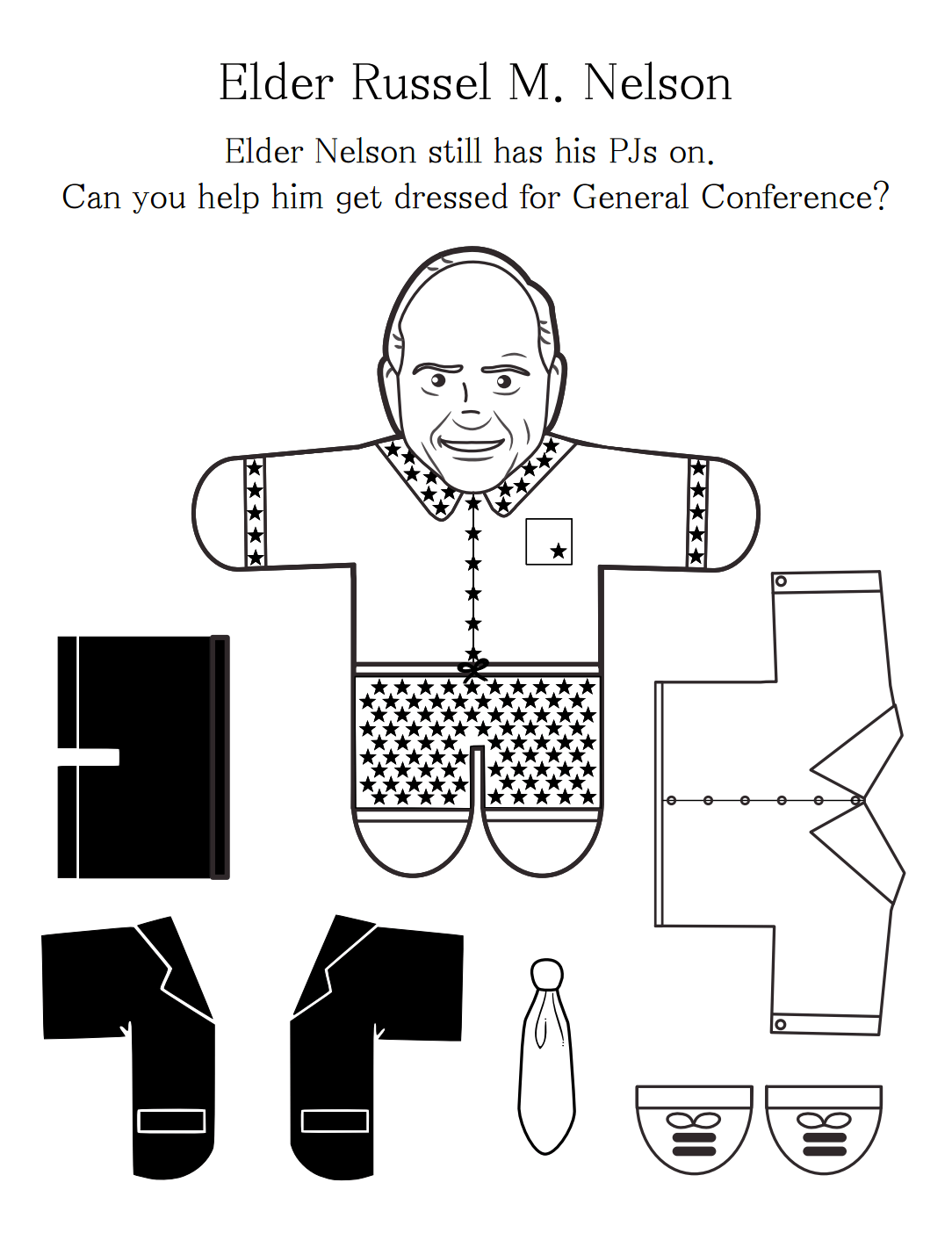 10 Free General Conference Printables For Toddlers Amp Young