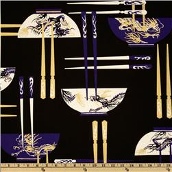 Asian Collection Chop Sticks Purple