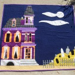 Haunted House Paper Pieced Mini Quilt Let S Create A Paper Pieced Haunted House Mini Quilt This Is The Perfect Sewing Project For Your Spooky Halloween Decor Fabric Com Blog