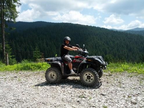Cu ATV-ul pe Valea Prahovei (Azuga-Susai)