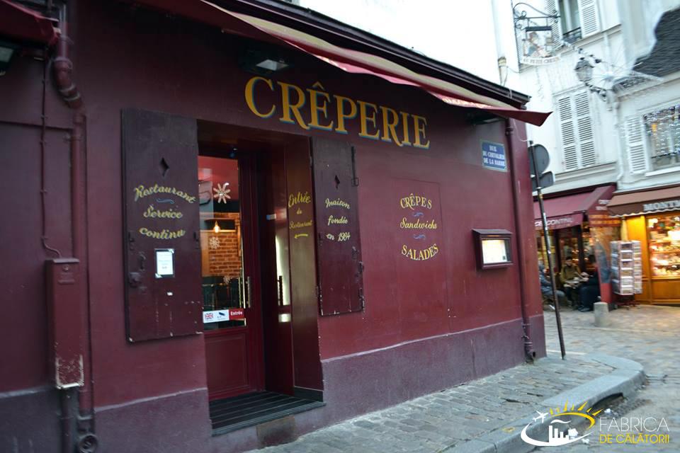 Impresii din Paris - Creperie