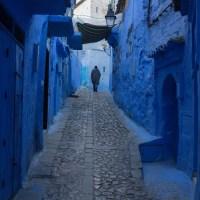 Cum arată Chefchaouen, orașul albastru din Maroc