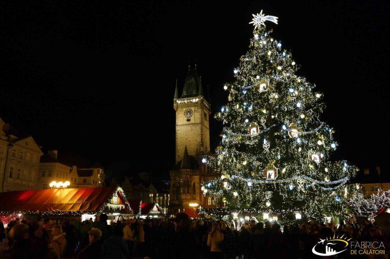 Piaţa de Crăciun din Praga
