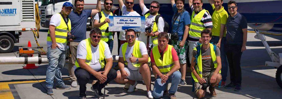Unim România: am zburat de 5 ori în 4 zile cu Blue Air