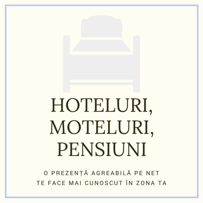 creare site hotel, pensiune