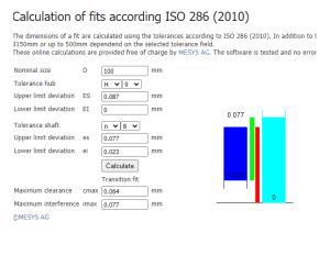Fabricadoprojeto calculos Mecanicos Online Tolerancia de montagens