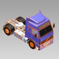 Bloco 3D Caminhão Truck I
