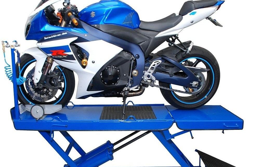 elevador pneumatico para motos rampa para motos 2 pistoes