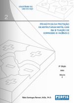 Série Projeto e Cálculo de Estruturas Metálicas: Princípios da Proteção de Estruturas Metálicas em Situação de Corrosão e Incêndio
