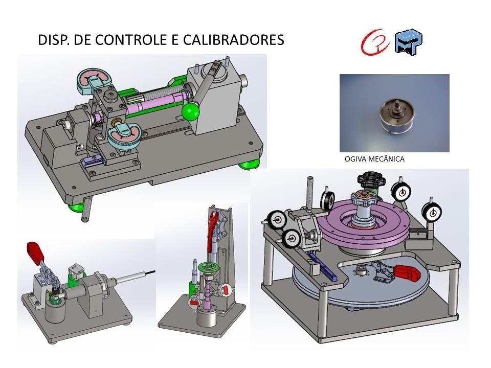 projeto completo bancadas de Controle e GDT