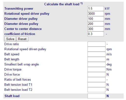 Calculo carga eixo FP