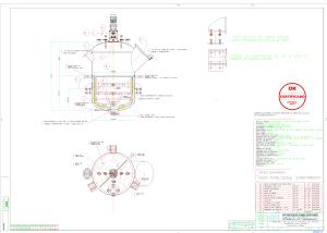 Projeto completo Agitador Cozedor de Frutas 1000L 1