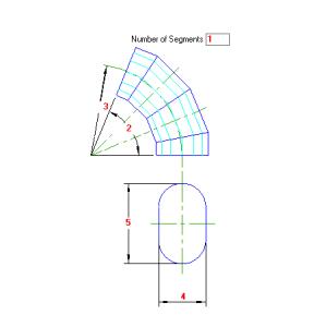80 Planificacao Curva de Gomos Oval Vertical traçado caldeiraria