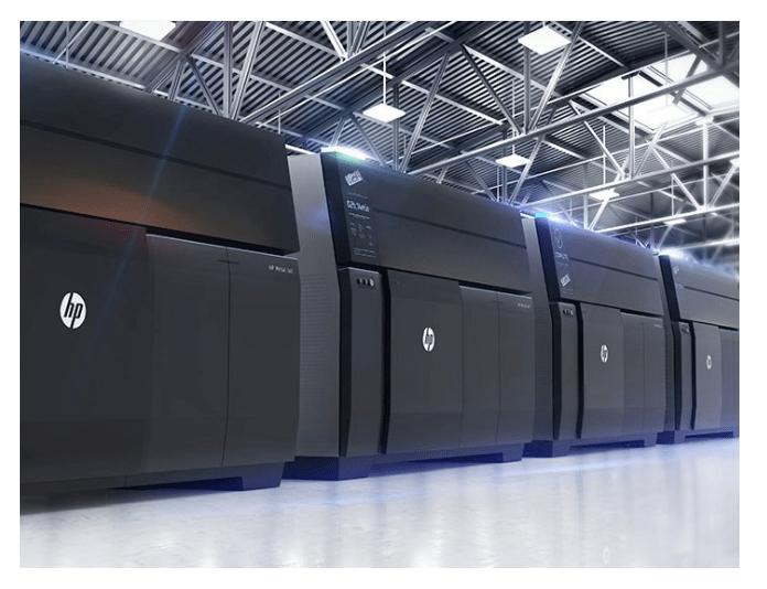 impressao 3D Metal HP Manufatura