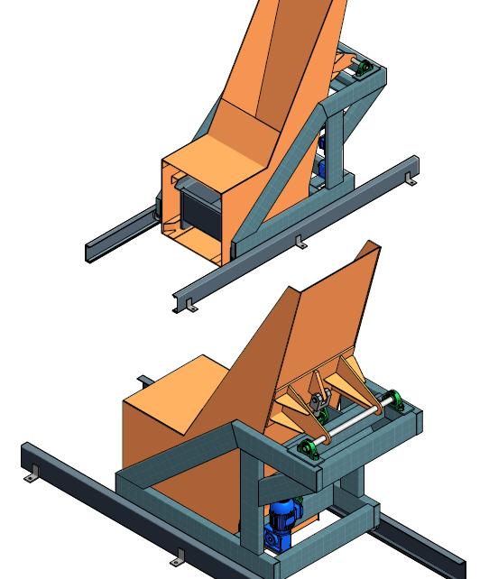 1103 Caçamba com deslocamento automático 0