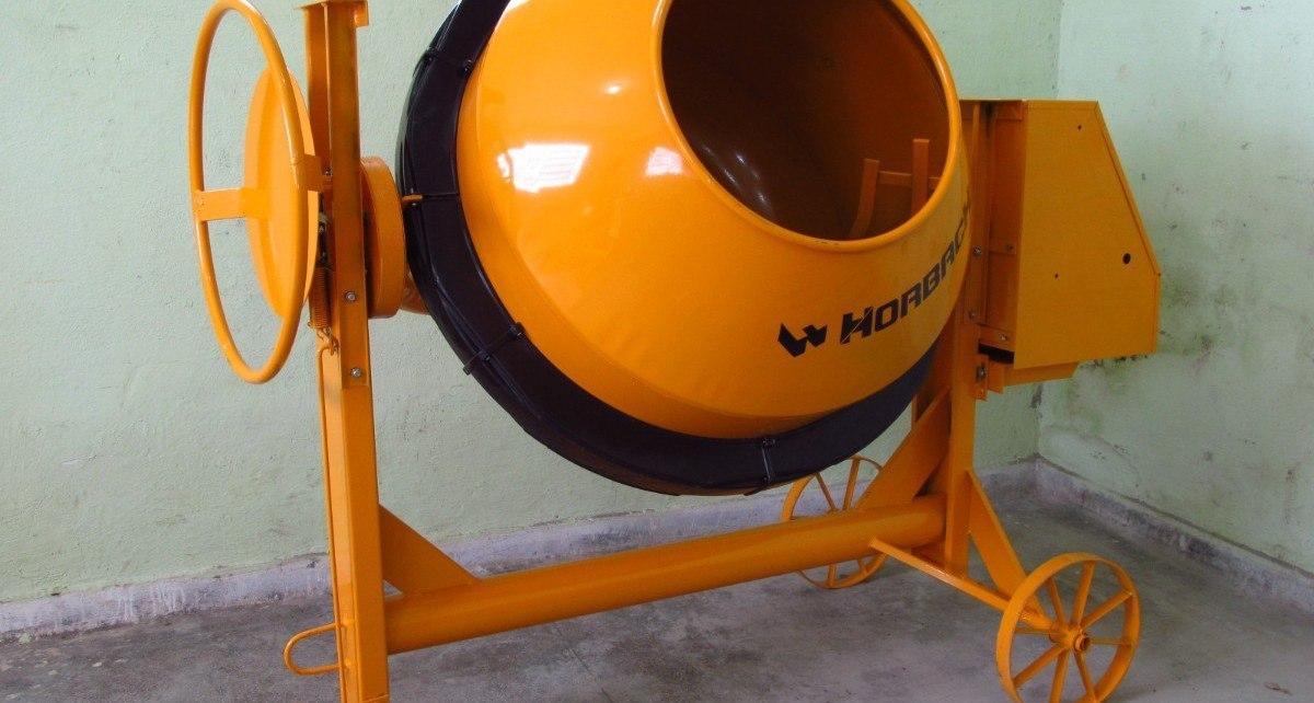 494 betoneira 400 litros horbach com motor trifasico e proteco MLB F 5163219835 102013