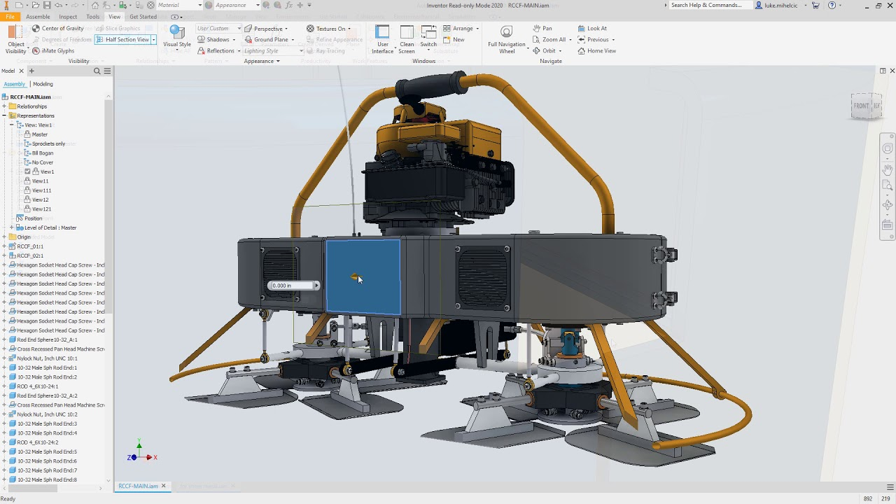 Novidades projeto mecanico autodesk inventor 2020