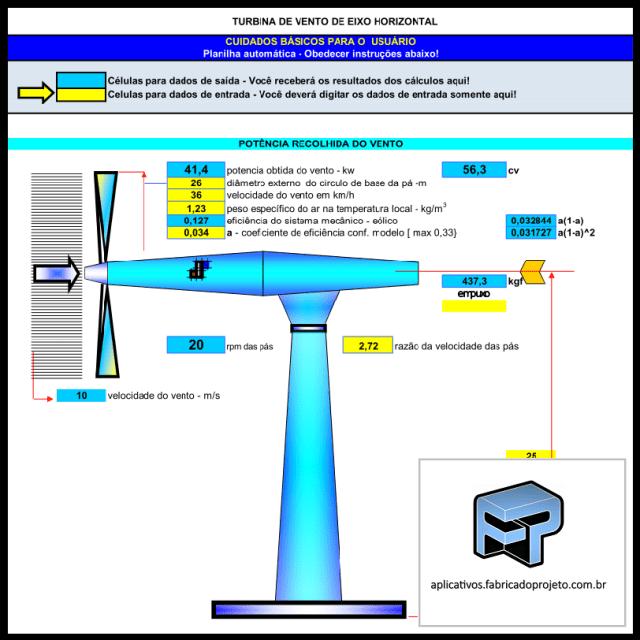 AFP.03.10101 calculo simplificado turbina vento gerador heolico