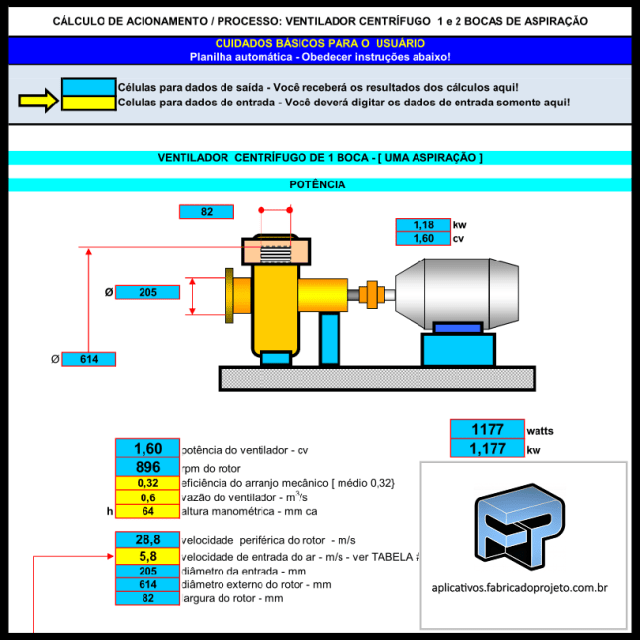 calculo-ventilador-centrifugo