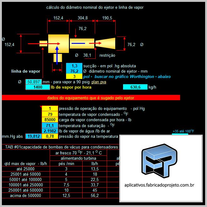 AFP.03.10220.0 eje calculo diametro ejetor e linha de vapor 1