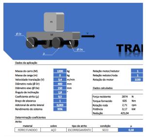 fabricadoprojeto planilha calculo online translacao acionamento carro