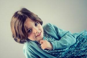 Photo enfant en studio