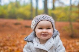 Photo bébé qui sourit
