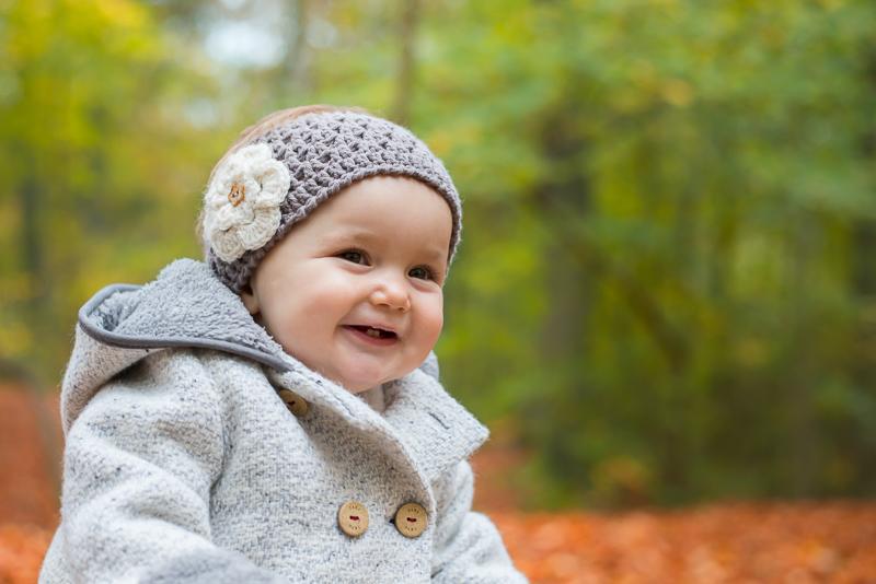 Photo bébé sourire