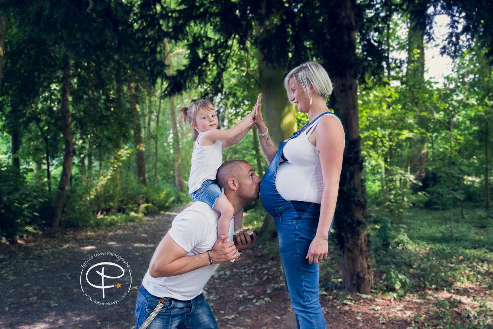 Séance grossesse extérieur