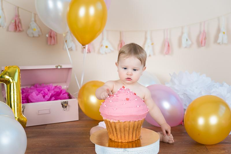 Smash the cake anniversaire