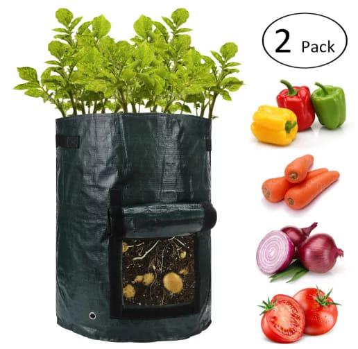 ANPHSIN 10 Gallon Potato Grow Bags