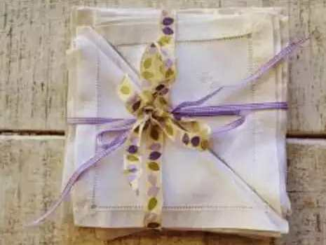 how to make fabric or cloth napkins