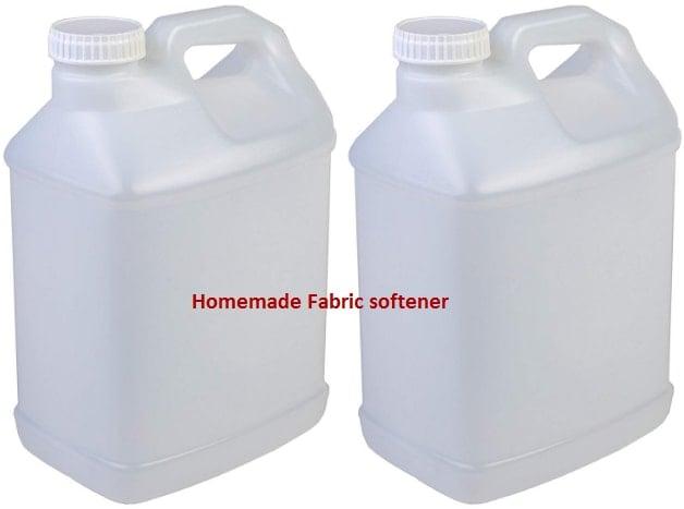 how to make homemade fabric softener