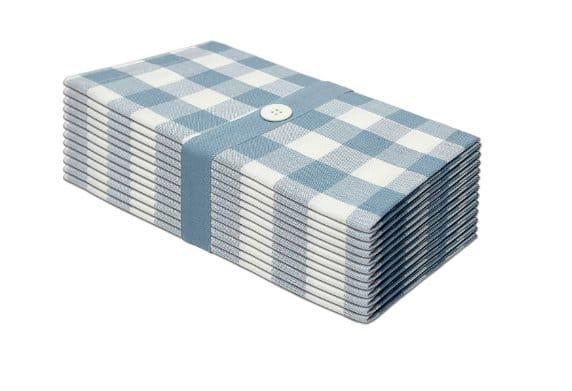 cotton craft gingham checks dinner napkins
