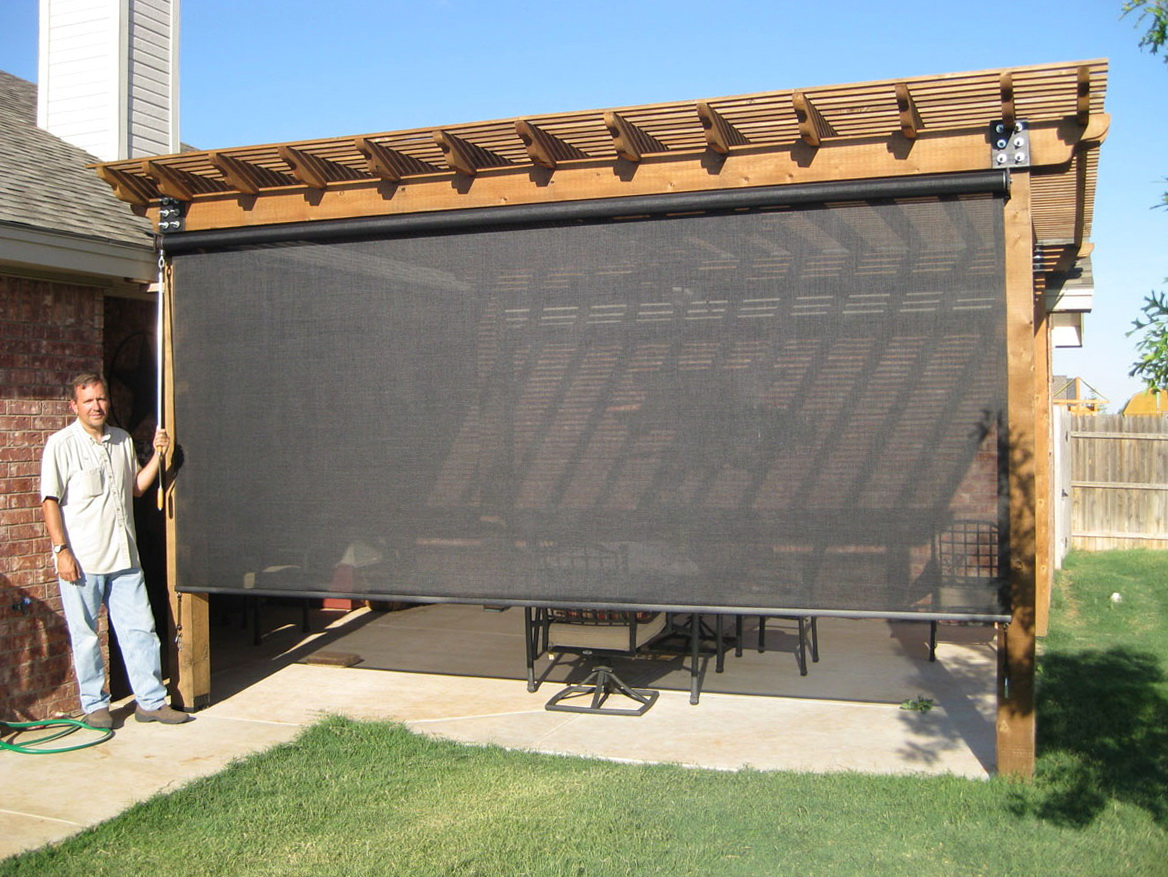 lowes outdoor shade fabric