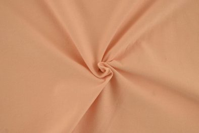 Cotton Spandex Solid Peach