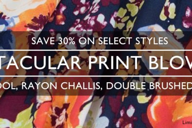 Spectacular Print Blowout