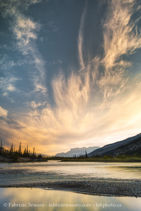Athabasca River Jasper National Park