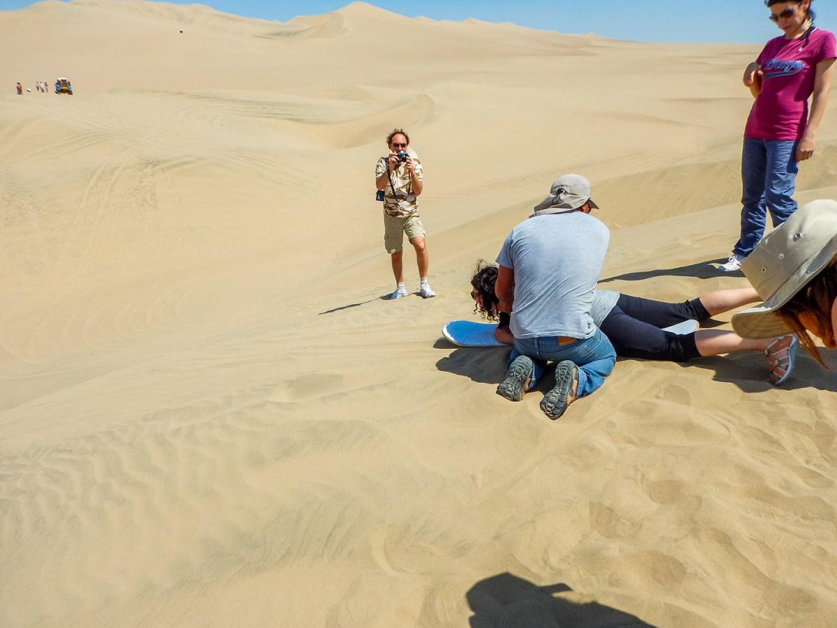 Peru', le dune di Huacachina