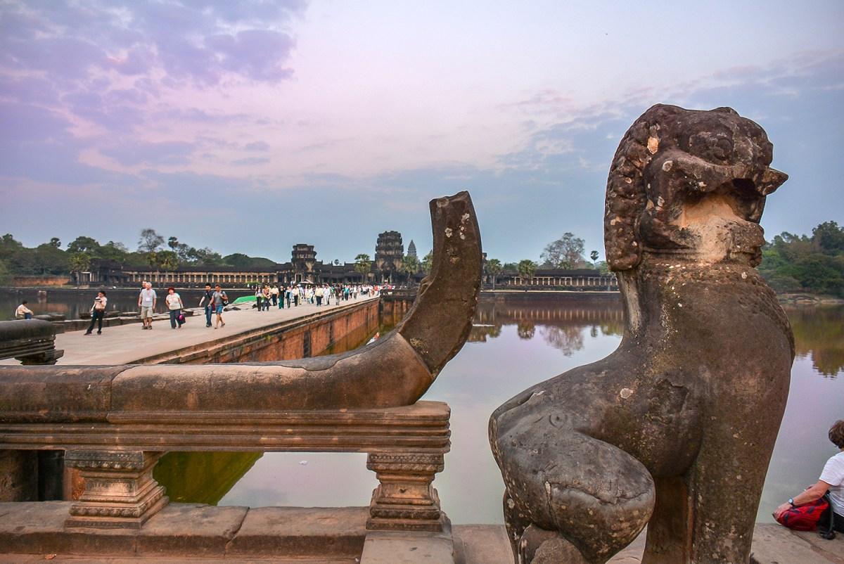 Angkor Wat, La città perduta e ritrovata