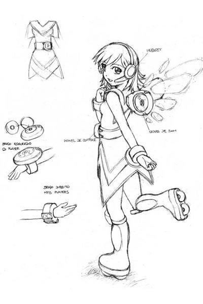 Mascote Rádio Animix
