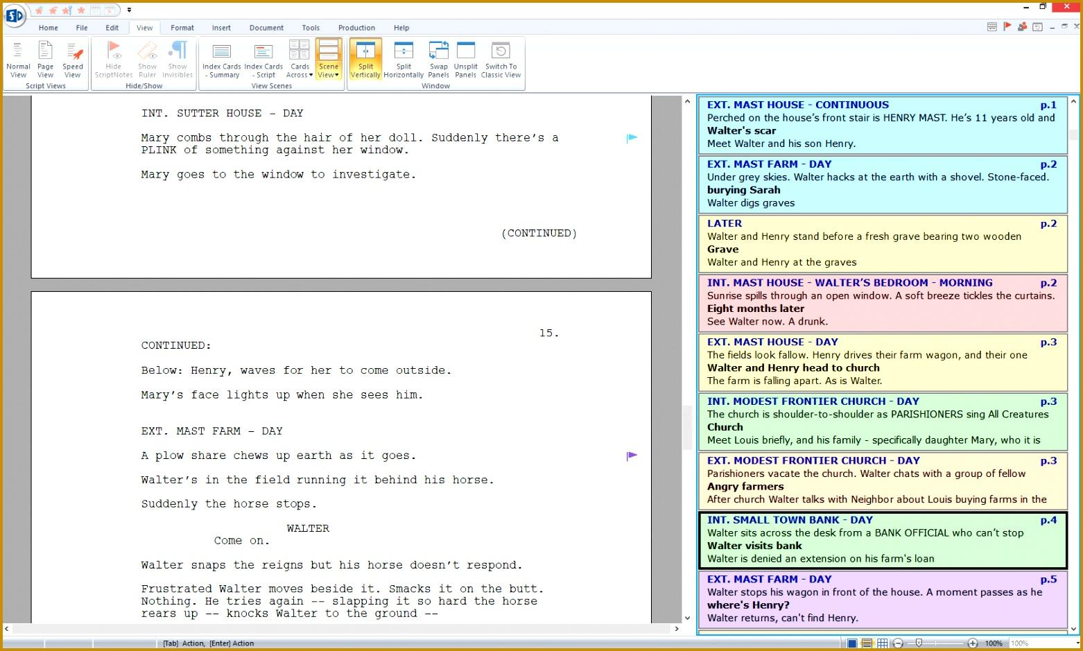 5 Screenplay Beat Sheet Template