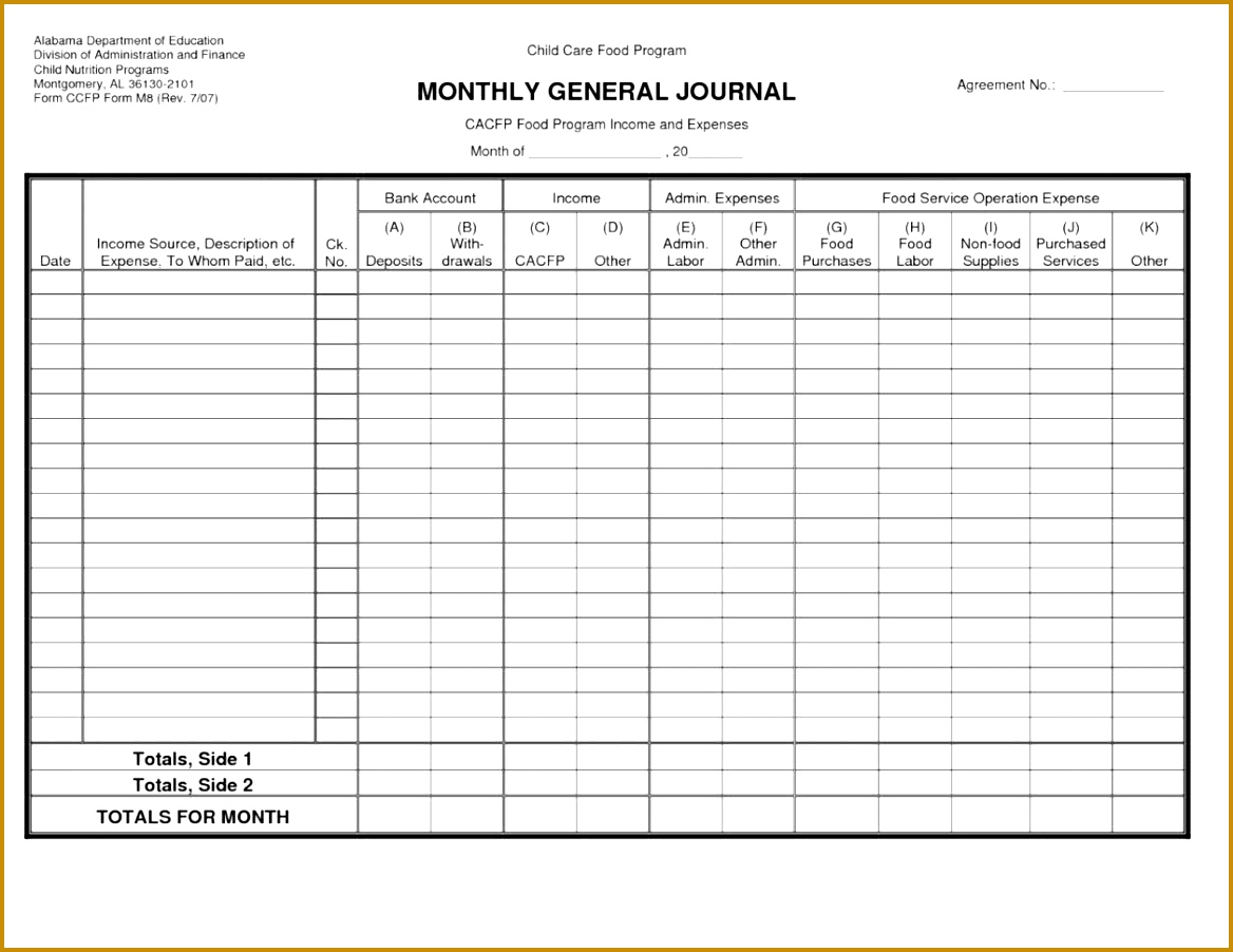 6 Excel Accounting Template