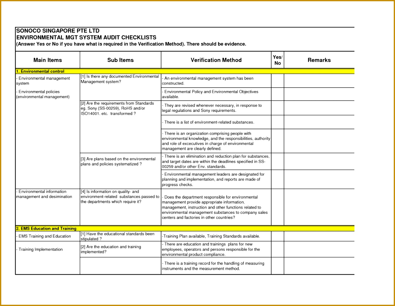 9 Facility Maintenance Plan Template