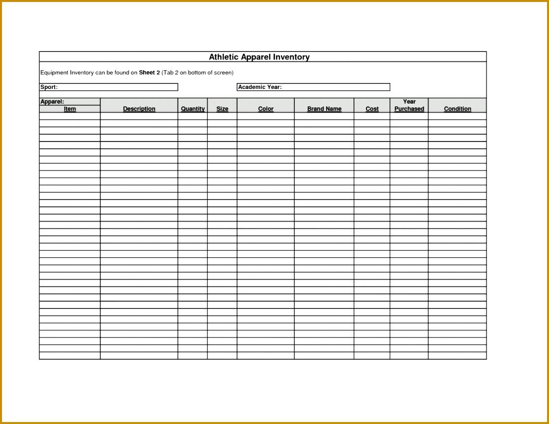7 Printable Spreadsheet Template