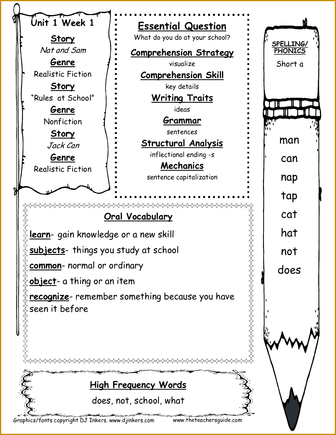 4 2nd Grade Reading Worksheets