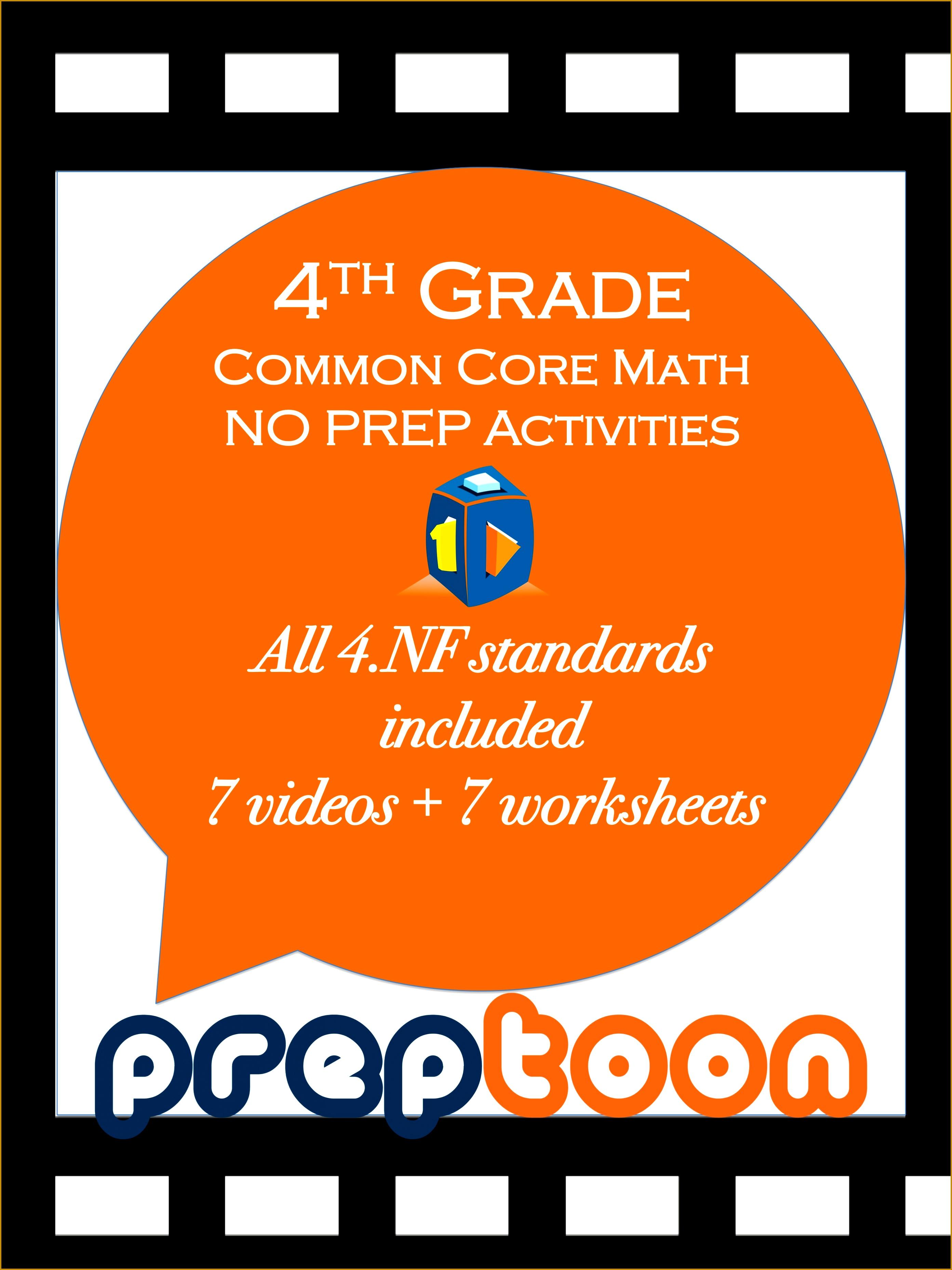 6 4th Grade Math Worksheets