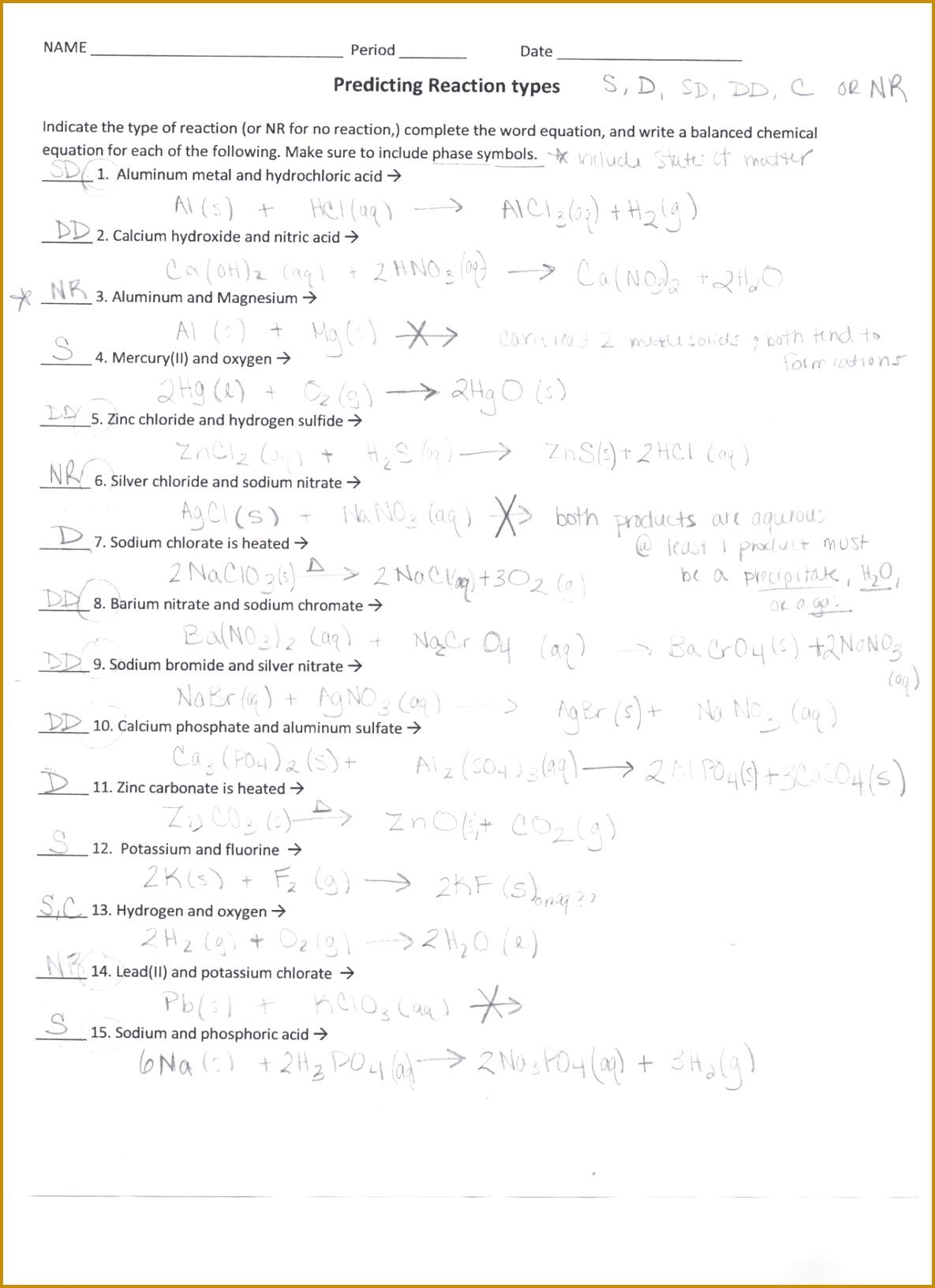 5 Balancing Nuclear Reactions Worksheet