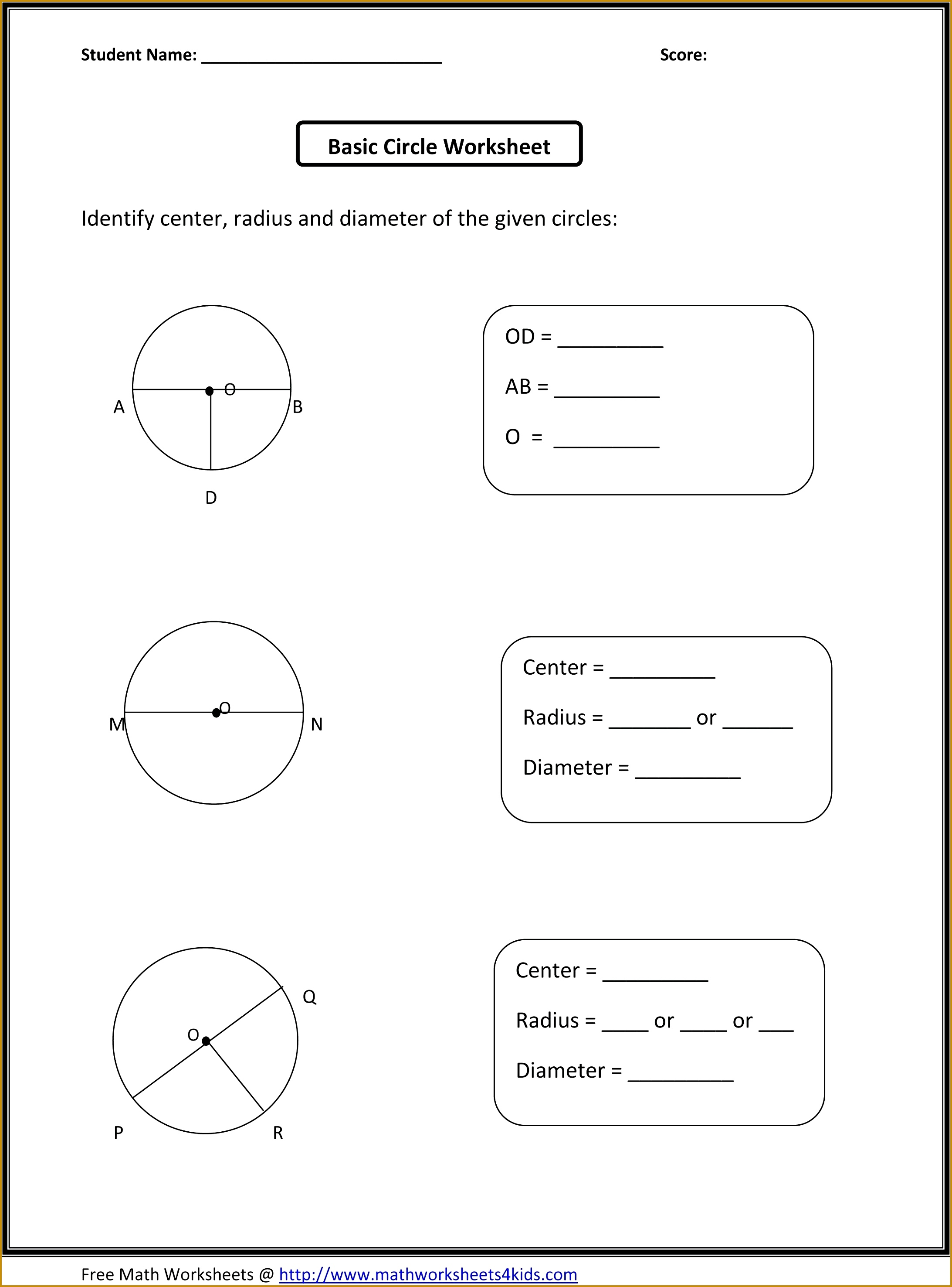 4 Classifying Triangles Worksheet