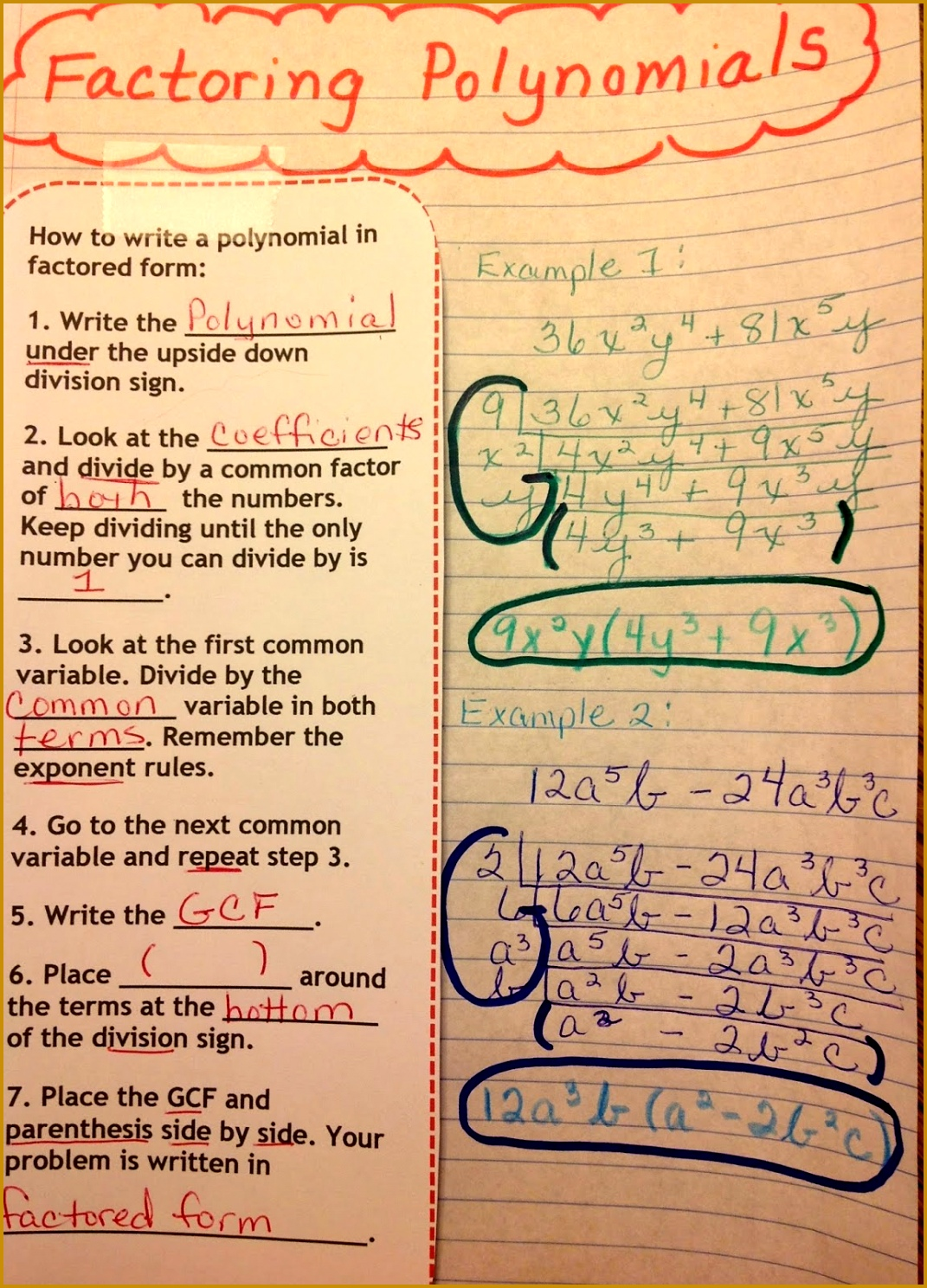 6 Dividing Polynomials Worksheet